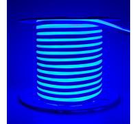 Неоновая светодиодная лента синяя AVT 220V smd2835 120LED/m 7W/m IP65, 1м