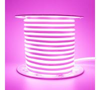 Неоновая светодиодная лента розовый AVT 220V smd2835 120LED/m 7W/m IP65, 1м