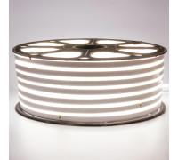 Неоновая светодиодная лента белая 220V smd2835 120LED/m 12W/m IP65, 1м