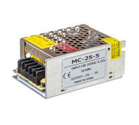 Led блок питания 5V MС/5A 25Bт IP 20