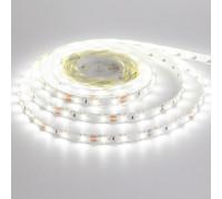 Лента светодиодная белая 12V smd2835 60LED/m IP20, 1м