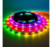 Лента светодиодная адресная AVT 5V smd5050 30LED/m WS2812B IP20, 1м