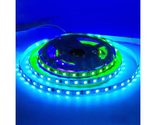 Лента светодиодная адресная AVT 12V smd5050 60LED/m TM1903 IP20, 1м