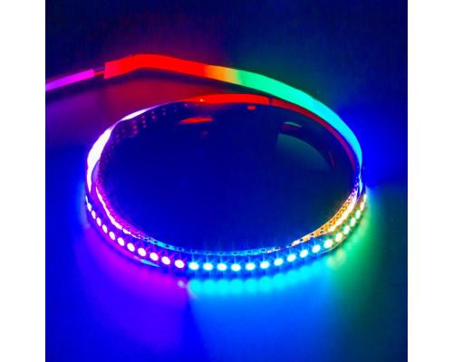 Лента светодиодная адресная AVT 5V smd5050 144LED/m WS2812B IP20, 1м