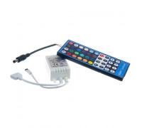 Led контроллер светодиодный rgbw 8А/96 Вт, (IR 40 кнопок)