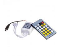 Led контроллер светодиодный w+ww 6А/72 Вт, (IR 24 кнопки)