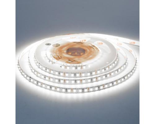 Лента светодиодная белая 12V AVT-New smd3528 120LED/m IP20, 1м