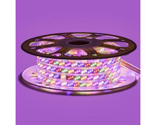 Лента светодиодная Multi-Color 220V smd2835 180LED/m 10W/m IP65, 1м