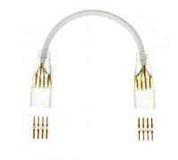 Конектор для светодиодной ленты Multi-Color 220V smd2835-180 2 разъема+провод 4pin