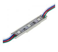 Модуль светодиодный 12V rgb smd5050 3LED 0.72W IP65