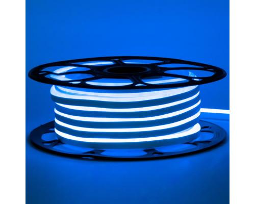 Неоновая светодиодная лента синяя AVT-1 220V smd2835 120LED/m 7W/m IP65, 1м
