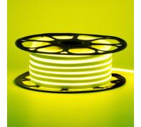 Светодиодный неон 12В лимонный желтый 6*12mm 120led/m AVT smd2835 6W/m IP65 силикон, 1м