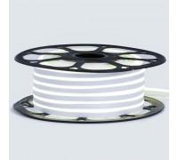 Неоновая светодиодная лента белая нейтральная 12V smd2835 120LED/m 6W/m pvc 8*16 IP65, 1м