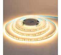 Лента светодиодная белая теплая 12V AVT-Prof smd2835 120LED/m IP20, 1м