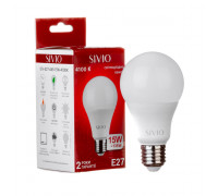 Лампа светодиодная нейтральная белая 15W E27 4100K