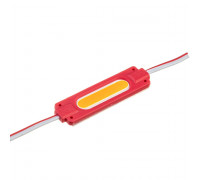 Светодиодный модуль 24В красный 1led СОВ 2W IP65