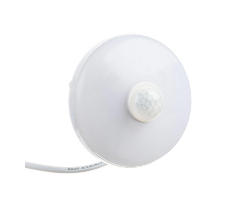 Светильник накладной с датчиком Sensor 9Вт 6000К круглый IP44