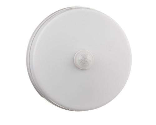 Светильник накладной с датчиком Sensor 18Вт 5000K круглый IP65