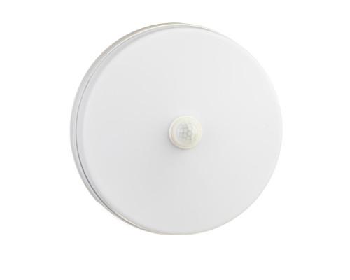Светильник накладной с датчиком Sensor 24Вт 5000K круглый IP65