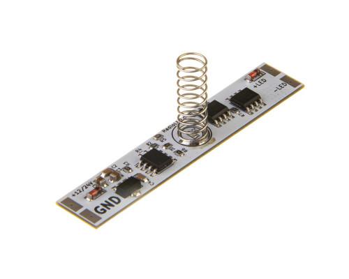 Диммер для светодиодной ленты ON/OF 10А сенсорный 12-24V (зеленый диод)