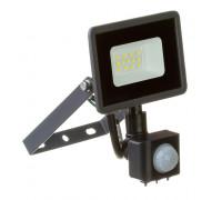 Лед прожектор с датчиком движения AVT 10Вт 6000К IP65