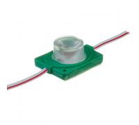 Светодиодный инжекторный модуль 12В зеленый 1led smd3030 1.5W IP65