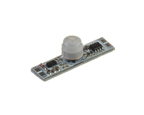 Сенсор движения PIR ON/OFF 12V 5A с фотоэлементом и плавным включением