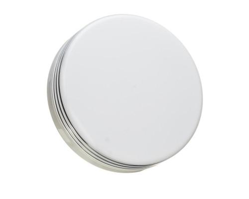 Светодиодный светильник 18 Вт накладной круглый 5000К IP44 Silver