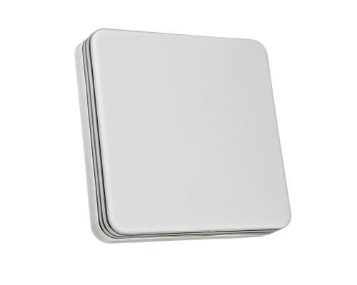 Светодиодный светильник 24 Вт накладной квадратный 5000К IP44 Silver