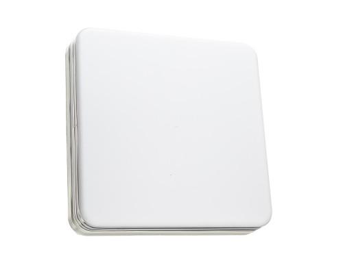 Светодиодный светильник 36 Вт накладной квадратный 5000К IP44 Silver