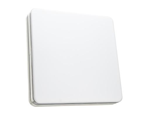 Светодиодный светильник 48 Вт накладной квадратный 5000К IP44 Silver