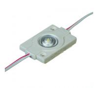 Модуль светодиодный белый холодный 12V smd3030 1LED 0.6W IP65